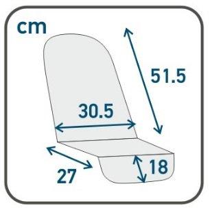 Размер прогулочного блока Roan Bass
